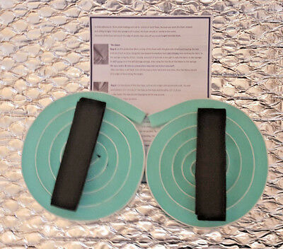 Self Adhesive Replacement Sponge Kit X 2 For Knitting Machine Made In England