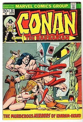 Conan The Barbarian #25, Very Good - Fine Condition'