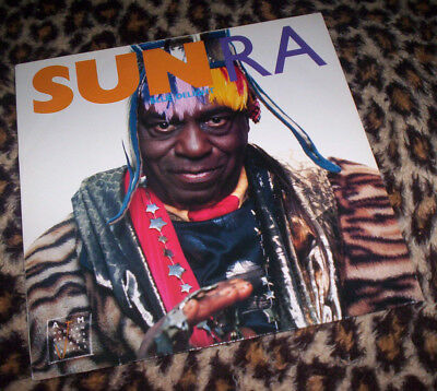 SUN RA ~ BLUE DELIGHT. Jazz. Orig 1989 EU vinyl LP. M/VG.