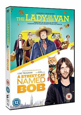 The Lady In The Van // A Street Cat Named Bob - Like New  {Dvd}