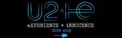 N.1 GA FLOOR TICKETS  U2 eXPERIENCE + iNNOCENCE 2018 TOUR DUBLIN SATURDAY 10 NOV