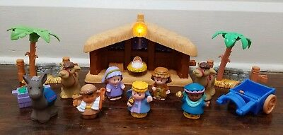 Fisher Price Little People Deluxe Christmas Story Nativity Set 18