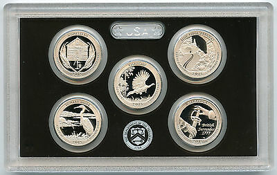 2015 National Park Quarter Silver PROOF Set - ATB America the Beautiful US Mint