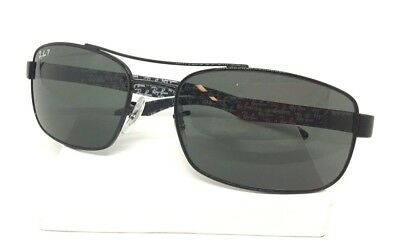cb1dfc08ee9 RAY BAN RB8316 002 N5 62-18-135 3P Black Polarized Sunglasses ...