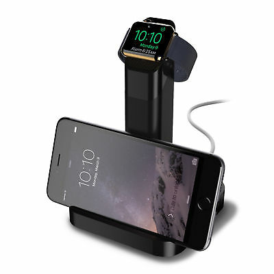 GRIFFIN WATCHSTAND CHARGING DOC AND DUAL STAND FOR APPLE WATCH, iPHONE