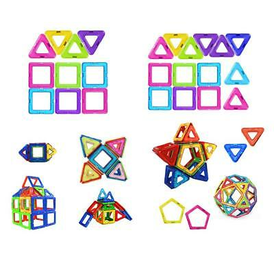 Kids Magnetic Building Blocks Construction Model Building Educational Toys Gifts