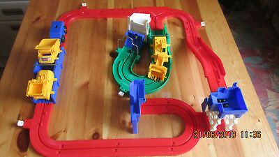 Tomy Baustelle Big Loader Construction Set Vintage 70`er