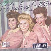 Rarities by The Andrews Sisters (CD, Nov-1998, MCA, Very Good cond.))