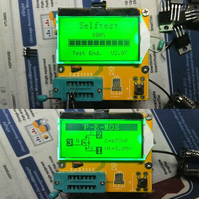 Graphical Tester Capacitor+Inductance+Resistor+SCR Resistor LCR-T3 SCR Durable