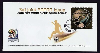 Botswana 2010 SAPOA / Fifa World Cup, FDC (First Day Cover)