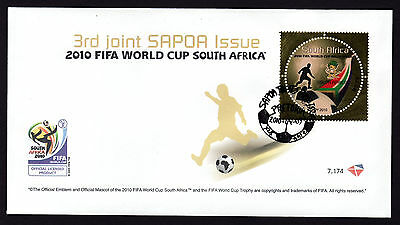 South Africa 2010 SAPOA / Fifa World Cup, FDC (First Day Cover)