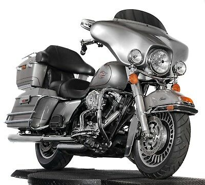 2009 Harley-Davidson Touring  2009 Harley Davidson Electra Glide Classic FLHTC Pewter Silver Many Extras 27k!