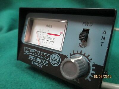 Workman SWR-2T SWR test meter CB Radio Home And Mobile #2414/I2