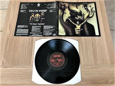Celtic Frost - To Mega Therion ORG Gatefold LP Banzai Rec. 1985   Kreator,Sodom