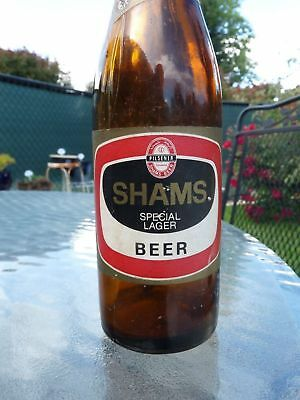 Pahlavi, 1960s SHAMS SPECIAL LAGER BEER BOTTLE 330cc FROM IRAN,PERSIAN.IRANIAN.