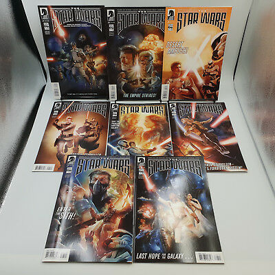The Star Wars #1 to 8 Complete Dark Horse Comics Lot VF/NM