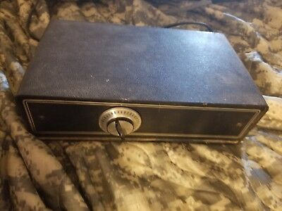 VINTAGE TV CABLE BOX 1970s 1980s CATV CONVERTER M35B