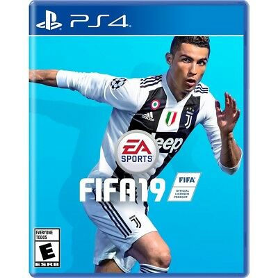 FIFA 19 (Sony PlayStation 4, 2018) 4K HDR Brand New Sealed - PS4