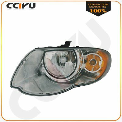 Left Driver Side Headlight Headlamp For 2005 2007 Chrysler Town Country