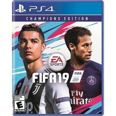 FIFA 19 Champions Edition (Sony PlayStation 4, 2018) 4K HDR Brand New - PS4