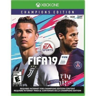 FIFA 19 Champions Edition (Microsoft Xbox One, 2018) 4K HDR Brand New - XB1
