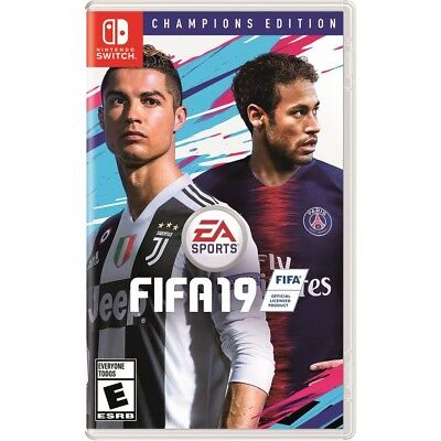 FIFA 19 Champions Edition (Nintendo Switch, 2018) Brand New - NS