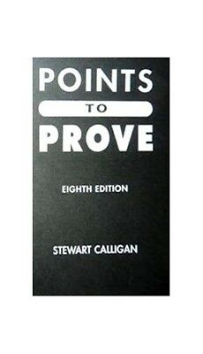 Points to Prove by Calligan, Stewart Paperback Book The Cheap Fast Free Post