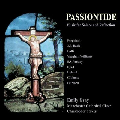 Passiontide: Music for Solace and Reflection -  CD B2VG The Cheap Fast Free Post