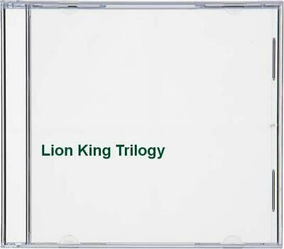 Lion King Trilogy - DVD  7GVG The Cheap Fast Free Post