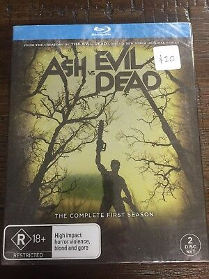 Ash vs. Evil Dead Blu Ray 2-Disc Complete First Season Sealed