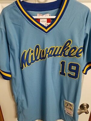 best loved 957e5 21683 spain milwaukee brewers throwback jersey c196c bf052