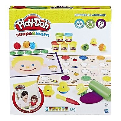 Hasbro Play-Doh Playdoh Shape and Learn Letters and Language B3407