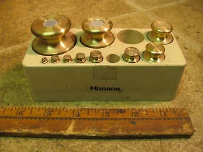 Masses 1106 Scale Calibration Weight Set 500 g 200 100 50 20 10 5 2 2 1 Gram