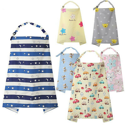Udder Covers Womens Nursing Breastfeeding Baby Feeding Infant Apron Cotton Shawl