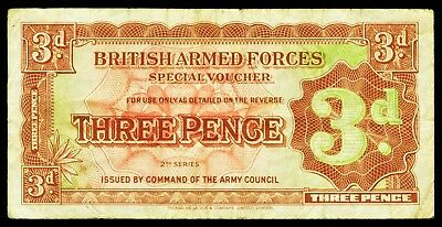 Großbritannien. Great Britain. British Armed Forces. 3 Pence (1948). P. M16a.