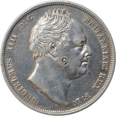 """Great Britain 1/2 crown 1836, VF-XF, """"King William IV (1831 - 1837)"""""""