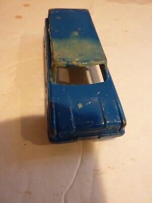VINTAGE TOOTSIE TOY 1960 Ford Ranch Wagon Diecast Collectible Unrestored Car