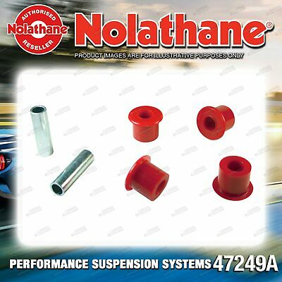 Nolathane Front Spring eye front and rear bushes for Toyota Dyna Toyoace BU HU
