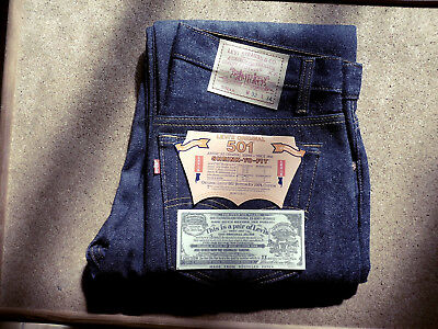 Levi's 501 - shrink to fit - 1987 - Design 520 - Vintage - Retro