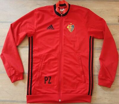 FC Basel adidas PZ tracksuit zipper long sleeves S