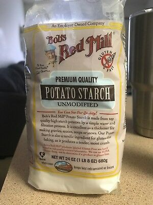 Bobs Red Mill - Potato Starch, Gluten Free and Unmodified, 24 Ounces