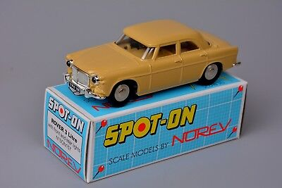 Spot On by Norev 1/42 Rover P5 3 Litre with Working Lights, Boxed, Outstanding