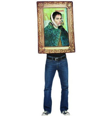 Van Gogh Frame Costume One Size Fits Most *Funny*