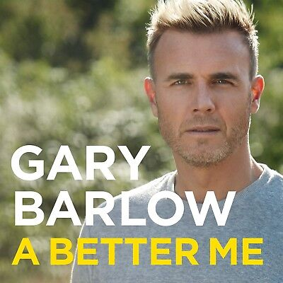 Gary Barlow A Better Me: The Official Autobiography New Hardcover Book Take That