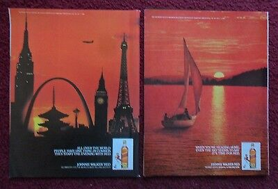 Lot of 20 Diff Johnnie Walker Red Label Scotch Whiskey Print Ads ~ Lobster ++