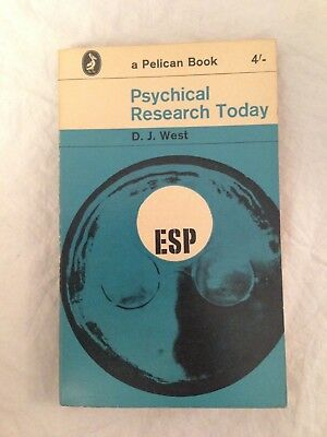 D J West - Psychical Research Today - 1962, ESP, Seances, Psychic Impressions
