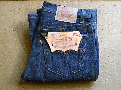 Levi's 501 - shrink to fit - 1987 - Design 552 - Vintage - Retro