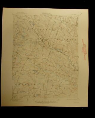 Kasoag New York 1947 vintage USGS Topographical chart map