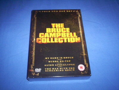 The Bruce Campbell Collection, 4 Dvd Boxset, Brand New And Shrink Wrapped