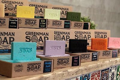 Greenman Soap Bars - Certified Paraben & SLS Free ESSENTIAL OIL